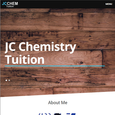JC Chemistry Tuition