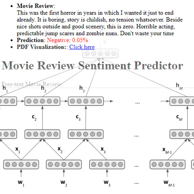 Neural Sentiment Classifier